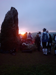 Beltane sunrise